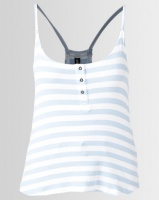 All About Eve Joy Stripe Tank Top Blue Photo