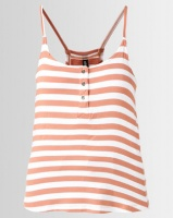 All About Eve Joy Stripe Tank Top Rust Photo