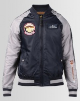 Alpha Industries Geronimo Patch Lightweight Nylon Jacket Red Photo