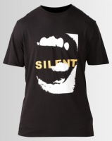Silent Theory Silent Voice Tee Black Photo