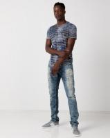 Cutty Punch Stripe T-Shirt Blue Photo