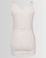 Cherry Melon Tank Top With Side Detail Ice Melange Photo