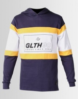 St Goliath Certified Hooded Tee Navy Photo
