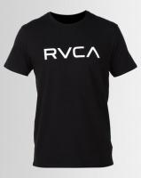 RVCA Big RVCA Short Sleeve Tee Black Photo