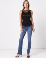 Sissy Boy Bootleg Jeans Med Blue Photo
