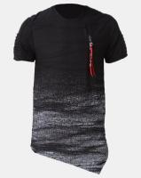 K Star 7 Retro Comet T-Shirt Black Photo