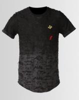 K Star 7 Retro Sira T-Shirt Charcoal Photo