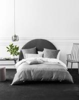 Linen House Catania Duvet Cover Set Grey Photo