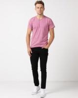 Unseen Caracle Acid Wash T-shirt Purple Photo