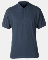 Jeep Short Sleeve Pique Golfer Blue Photo