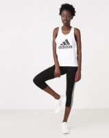 adidas Performance D2M Logo Tank White Photo