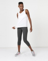 adidas Performance Low Back Tank White Photo