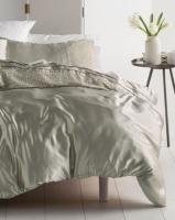 Linen House Athena Metallic Duvet Cover Set Grey Photo
