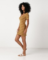 RVCA Donner Dress Beeswax Photo