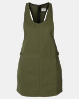 Hurley Modernist Jumper Dress Olive Canvas Photo