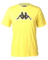 Kappa Unisex Logo Airi TR T-Shirt Yellow/Green/White Photo