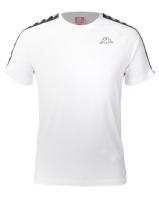 Kappa Unisex 222 Banda Coen Slim T-Shirt White/Block Photo