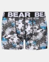 Bear 3pk Mosaic Plam Print Bodyshorts Multi Photo
