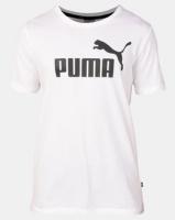 Puma Sportstyle Core ESS Logo Tee White Photo