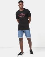 Lee Cooper M Jayden Logo T-Shirt Black Photo