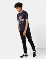 Lee Cooper M Owen Logo T-Shirt Navy Photo