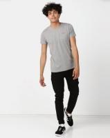Lee Cooper M Rapids Plain T-Shirt Grey Melange Photo