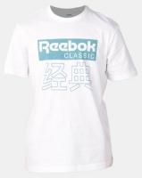 Reebok Classics Graphic Tee White Photo