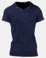 K Star 7 Micah Hooded T-Shirt Indigo Photo