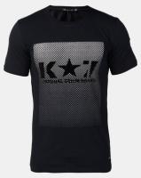 K Star 7 Disco T-Shirt Navy Photo