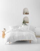 Linen House Almira Duvet Cover Set White Photo