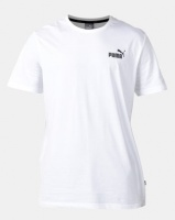 Puma Sportstyle Core ESS Small Logo Tee White Photo