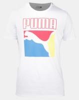 Puma Sportstyle Prime Graphic Box Logo Tee White Photo