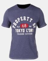 Tokyo Laundry Louisburg T-Shirt Indigo Marl Photo