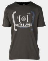 Smith & Jones Avison Graphic Tee Olive Green Photo