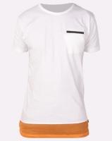 D-Struct Zip T-Shirt White Photo