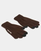 Utopia Ladies Winter Gloves Brown Photo