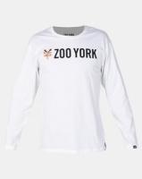 Zoo York Core Long Sleeve Tee White Photo