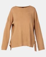 G Couture Loose Fit Side Ribbons Jumper Rust Photo