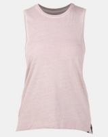 Hurley Solid Wash Biker Tank Particle Rose Photo