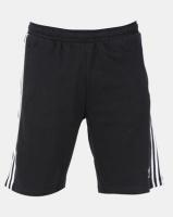 adidas Originals Mens 3 Stripe Shorts Black Photo