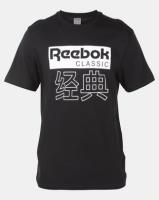 Reebok Classics Graphic Tee Black Photo