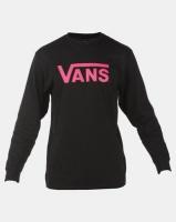 Vans Classic Long Sleeve T-shirt Black Photo