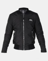 Alpha Industries Speedway Jacket With Printed Lining Black Photo