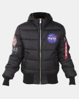 Alpha Industries Apollo 11 Puffer Jacket Black Photo