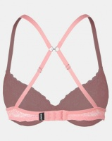 Bonds Micro & Lace Tee Bra Summer Coral Photo