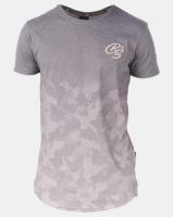 Crosshatch Prenzlau Camo Sublimation T-Shirt Brown Photo