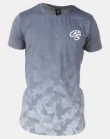 Crosshatch Prenzlau Camo Sublimation T-Shirt Blue Photo