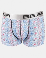 Bear 2Pk Bodyshorts Grunge Word Multi Photo