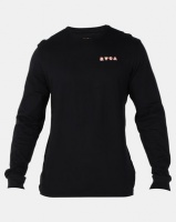 RVCA Blue Panther Long Sleeve Black Photo