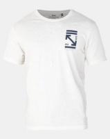 Crosshatch Olavo Slub T-Shirt Vapourous Grey Photo